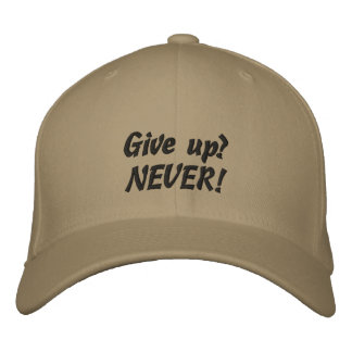 Tenacity Quote Custom Baseball Cap