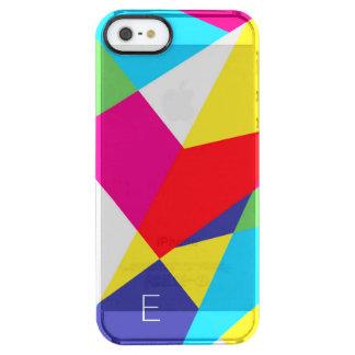 Tenagram Geometric Clear iPhone SE/5/5s Case