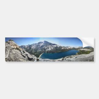 Tenaya Lake from Polly Dome - Yosemite Bumper Sticker