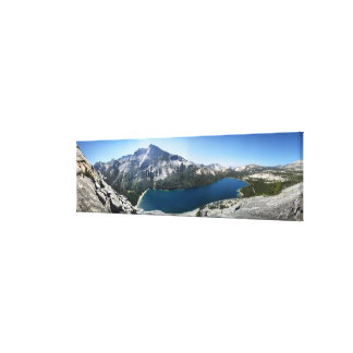 Tenaya Lake from Polly Dome - Yosemite Canvas Print