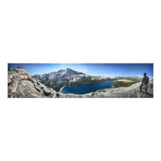 Tenaya Lake from Polly Dome - Yosemite Photo Print