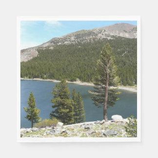 Tenaya Lake in Yosemite National Park Napkin