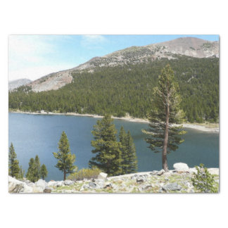 Tenaya Lake in Yosemite National Park Tissue Paper