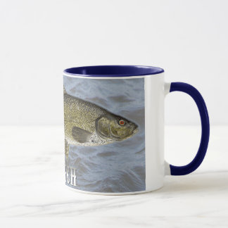 Tench Freshwater Fish, With Water Background Image Mug