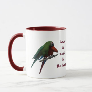 Tender birds mug