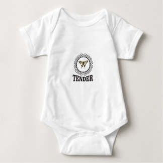 tender butterfly baby bodysuit