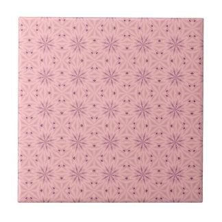 Tender Pink Pixels Tile