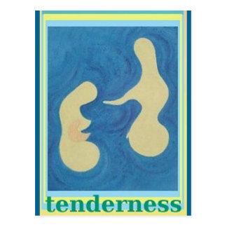 Tenderness Abstract Art Postcard