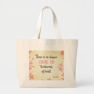 Tenderness of Heart Large Tote Bag