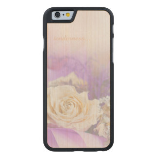 Tenderness of Tea-Rose for iPhone 6/6s Slim Maple Carved® Maple iPhone 6 Case