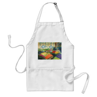 Tending the Produce Apron (Pike Place Market)