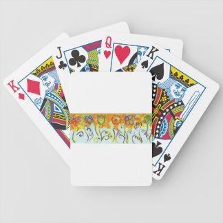 tendrils bicycle playing cards