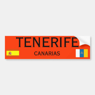 Tenerife* Canary Islands Bumper Sticker