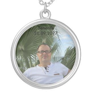 Tenerife Great Memories. UV Resistant & Waterproof Silver Plated Necklace