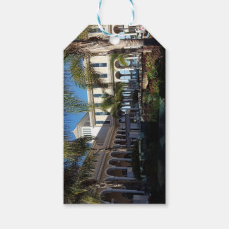 Tenerife Hotel and Palm Trees Gift Tag