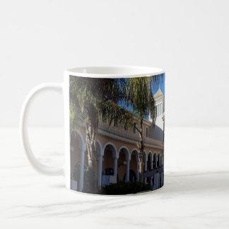 Tenerife Hotel and Palm Trees Mug