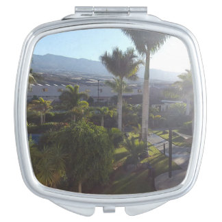 Tenerife Landscape Compact Mirror