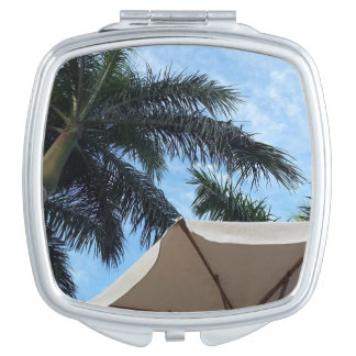 Tenerife Palm Tree Compact Mirror