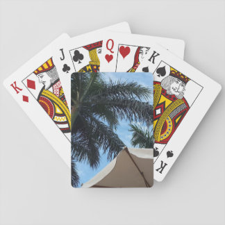 Tenerife Palm Tree Playing Cards