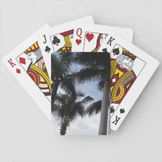 Tenerife Palm Trees Playing Cards