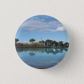 Tenerife Poolside View Button Badge