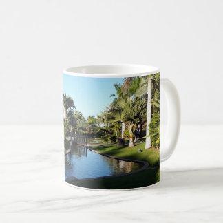 Tenerife Stream with Palm Trees Mug