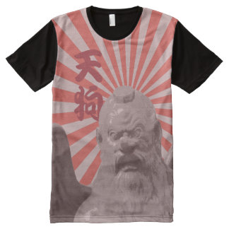 Tengu Sunburst All-Over-Print T-Shirt