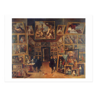 Teniers the Younger - Erzherzog Leopold Wilhelm Postcard