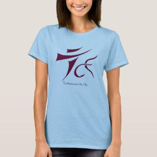 Tenkara on the Fly t-shirt Ladies