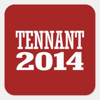 TENNANT 2014 SQUARE STICKER