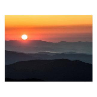 Tennant Mt, Graveyard Fields area, sunrise Postcard
