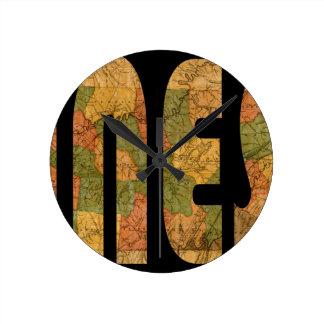 tennessee1832 round clock