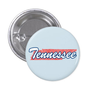 Tennessee 1 Inch Round Button