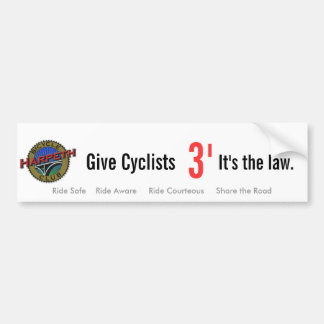 Tennessee 3' Law Bumper Sticker