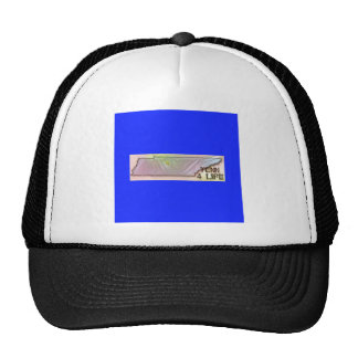 """""""Tennessee 4 Life"""" State Map Pride Design Trucker Hat"""