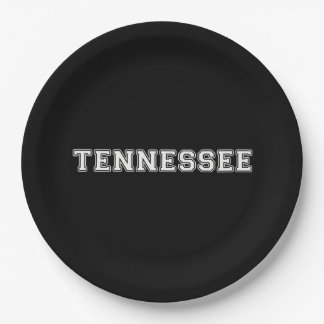 Tennessee 9 Inch Paper Plate
