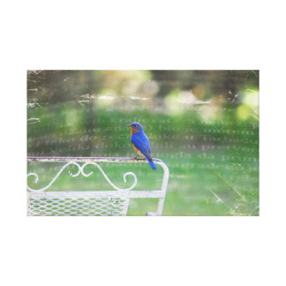 Tennessee Blue Bird Canvas Print