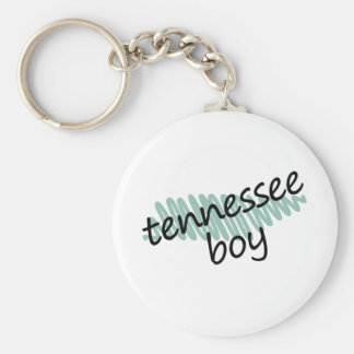 Tennessee Boy on Child's Tennessee Map Drawing Keychain