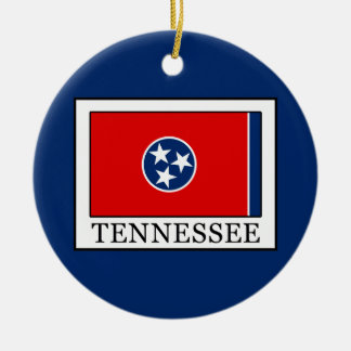 Tennessee Ceramic Ornament