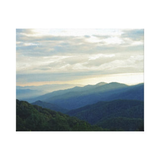 Tennessee Clouds Canvas Print