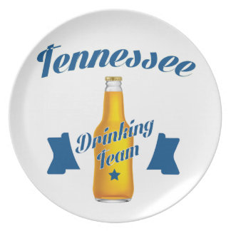Tennessee Drinking team Plate