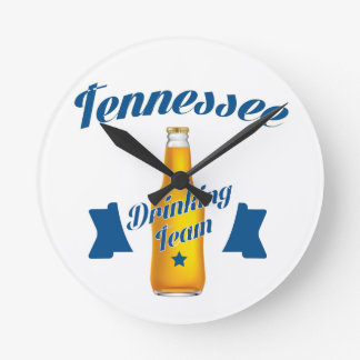 Tennessee Drinking team Wall Clocks