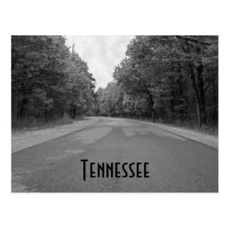 Tennessee Empty Road Postcard