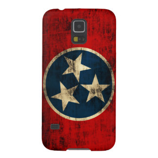 Tennessee Flag Grunge Galaxy S5 Cover