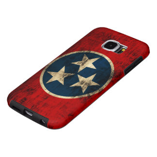 Tennessee Flag Grunge Samsung Galaxy S6 Cases