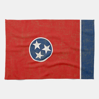 TENNESSEE FLAG KITCHEN TOWEL