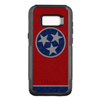 Tennessee Flag OtterBox Commuter Samsung Galaxy S8+ Case