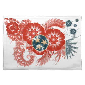 Tennessee Flag Place Mat