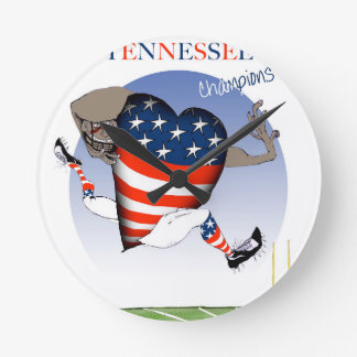 tennessee football champs, tony fernandes round clock