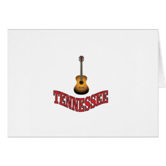 Tennessee Guitar Card